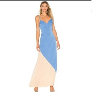 NWT Lovers + Friends Revival Two Tone  Maxi Dress
